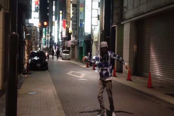 【必見】あのロボットダンスの天才が東京で踊っていた!