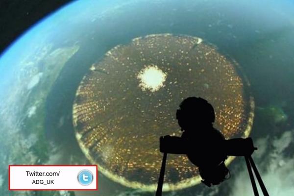 国際宇宙ステーションから撮った謎の物体が巨大過ぎる!(直径約5,000km)
