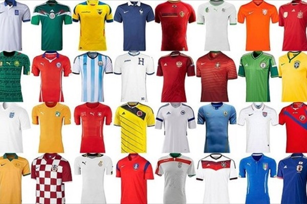 世界各国のサッカー代表ユニフォームをまとめてみました