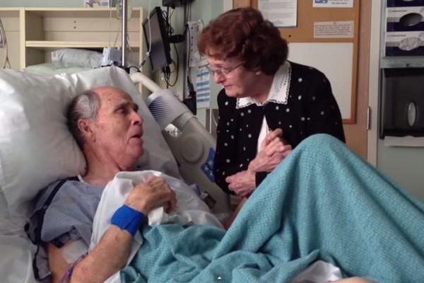 【感動】死を悟った夫が66年間連れ添った妻に捧げる愛の歌