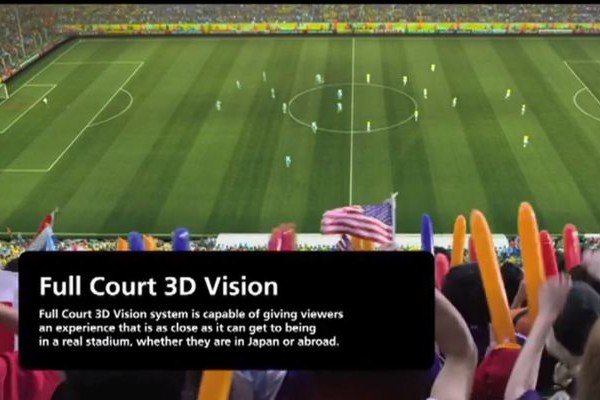 2022年ワールドカップを日本に誘致した際のコンセプトビデオが近未来的だった