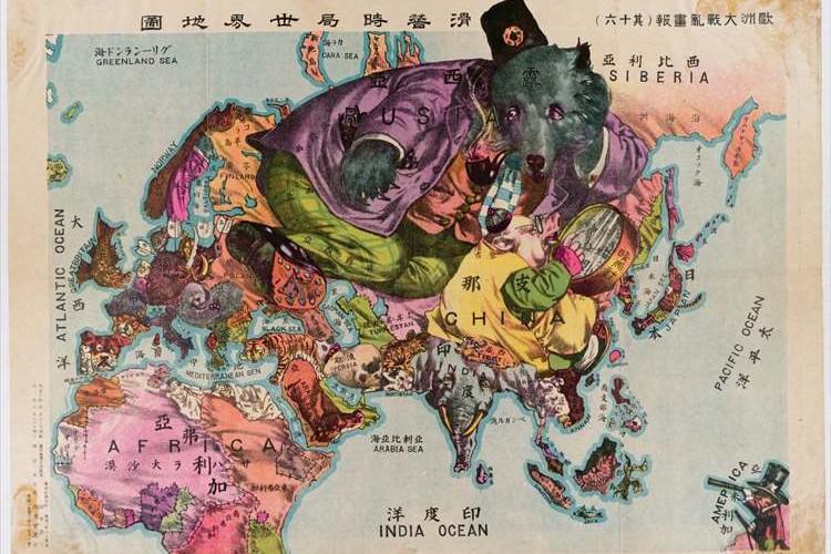 1914年に世界地図を作ったのは日本人だった。その独創性が世界中で話題に