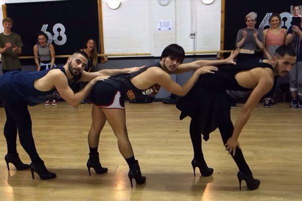 ハイヒールを履いて圧倒的なダンスパフォーマンスを見せる男たちが話題