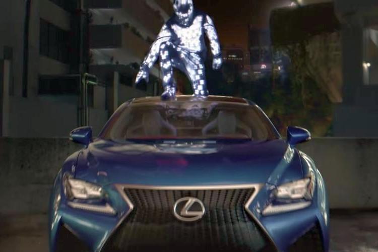 レクサスの海外CMがスゴい!LED照明を使った幻想的な映像は思わず見入ってしまう