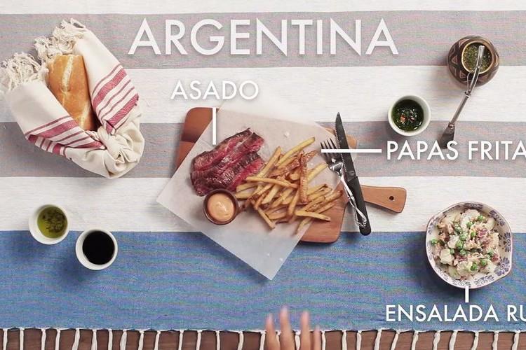 世界各国のバーベキュー料理を比べてみた。日本はタコ焼き、イカ焼き?