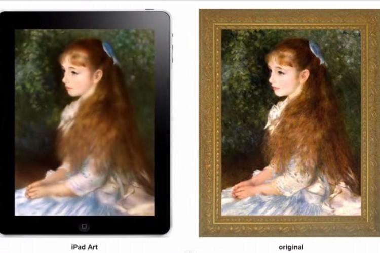 iPadのペイントアプリで描いた「イレーヌ・カーン・ダンヴェール嬢」の完成度がスゴい