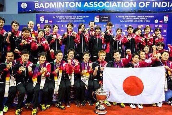 知ってましたか?5月に日本男子バドミントンが世界一になったことを
