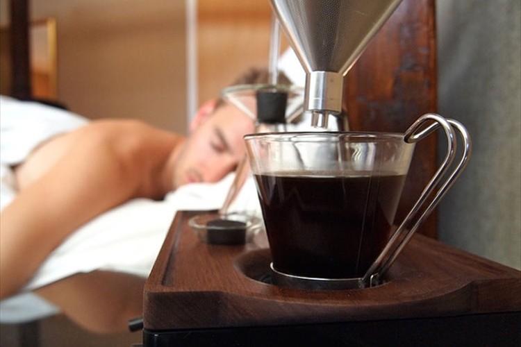 コーヒーの香りで最高の目覚めを。目覚ましコーヒーメーカーが素敵過ぎる