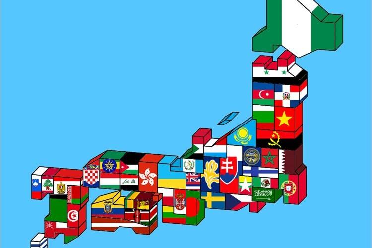 日本の都道府県を同じくらいのGDPを持つ国で示した地図がオモシロイ