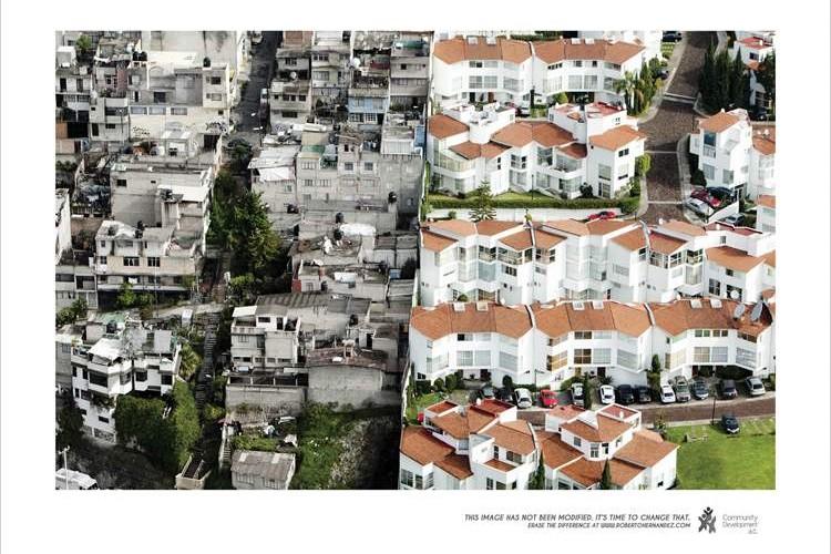 これが貧富の差か…メキシコの街で経済格差が明確に現れる4枚の写真