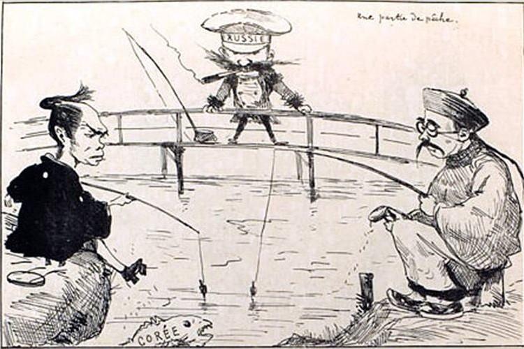 """幕末に活躍したフランス人風刺画家""""ビゴー""""の作品が日本の当時の様子をよく描いている"""