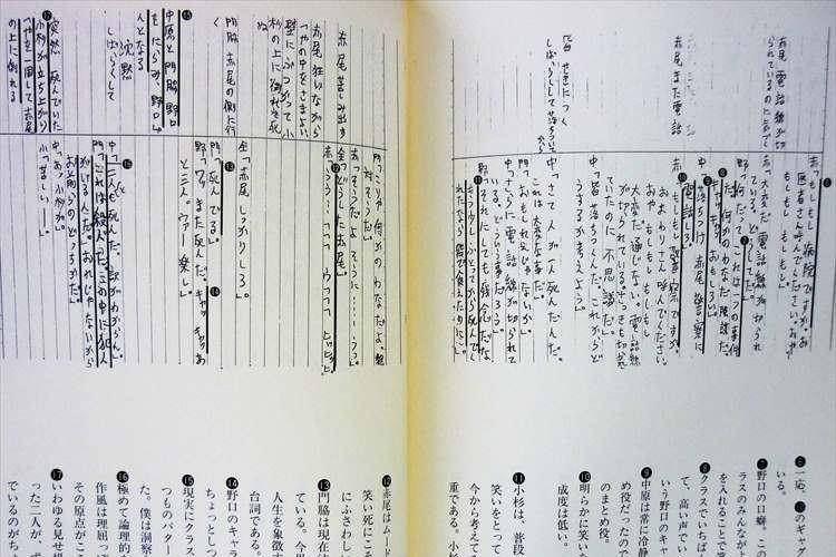 三谷幸喜が小学生の頃に書いた脚本のクオリティがヤバい