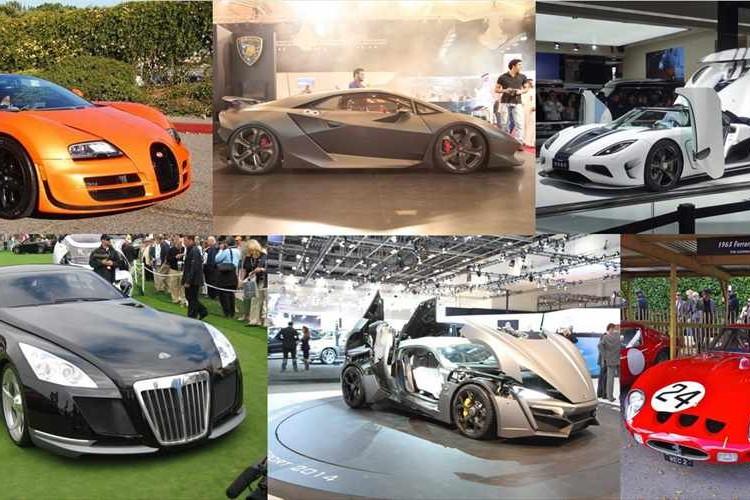 一般庶民は夢のまた夢!?世界で最も高価な車ベスト10