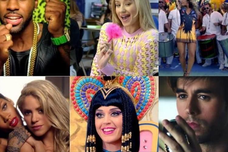 【2014年上半期ベスト10】世界で最も再生されたミュージックビデオはこれだ