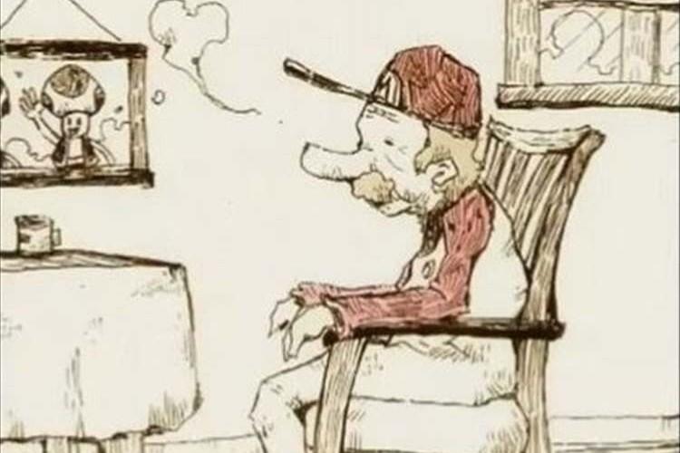 【胸が締め付けられる映像作品】年老いたマリオとピーチ姫のお話しが泣ける