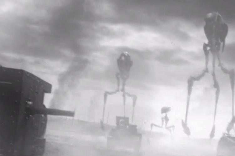 リアル過ぎて怖い!100年前にエイリアンが襲来した映像を発見!?