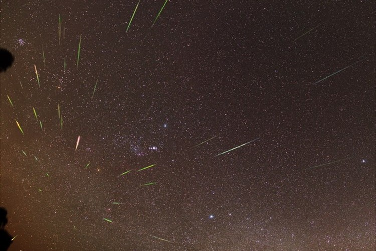【オリオン座流星群】22日深夜0時に南東の夜空を見上げて流れ星を見よう!