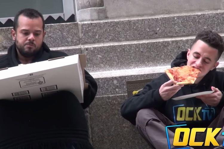 【社会実験】見知らぬ人にピザを分けて欲しいとお願いした結果、最後に思わぬ反応が