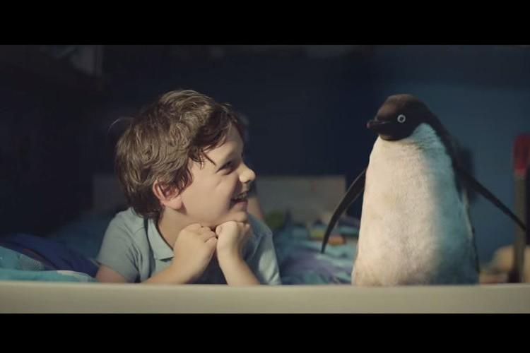 【公開4日で1,000万再生】イギリスのデパートが贈る少年とペンギンの心温まる感動CMが話題に