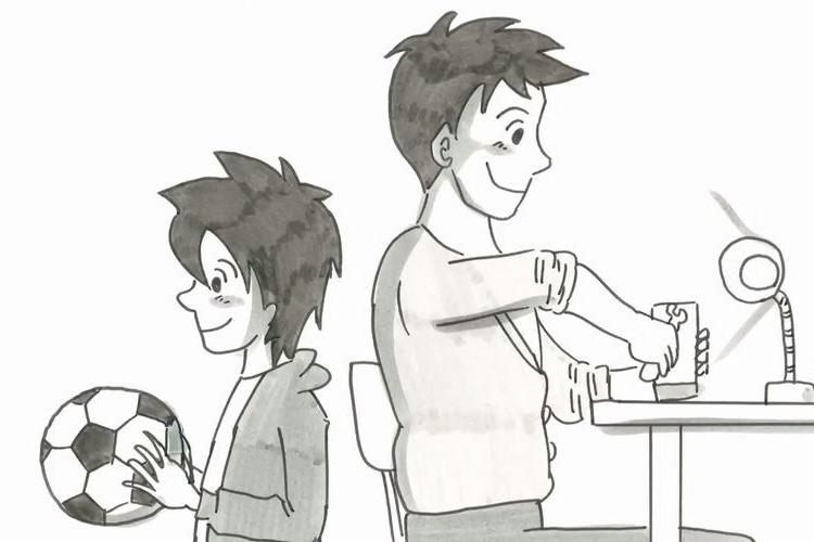 鉄拳の新作パラパラ漫画はディズニー映画のオリジナルPVだった「泣きたい時は、泣いてもいいんですよ。」