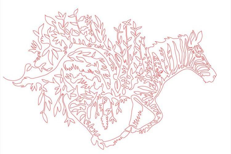 日本の一筆書きアーティスト奥下和彦氏の作品が海外メディアで話題に