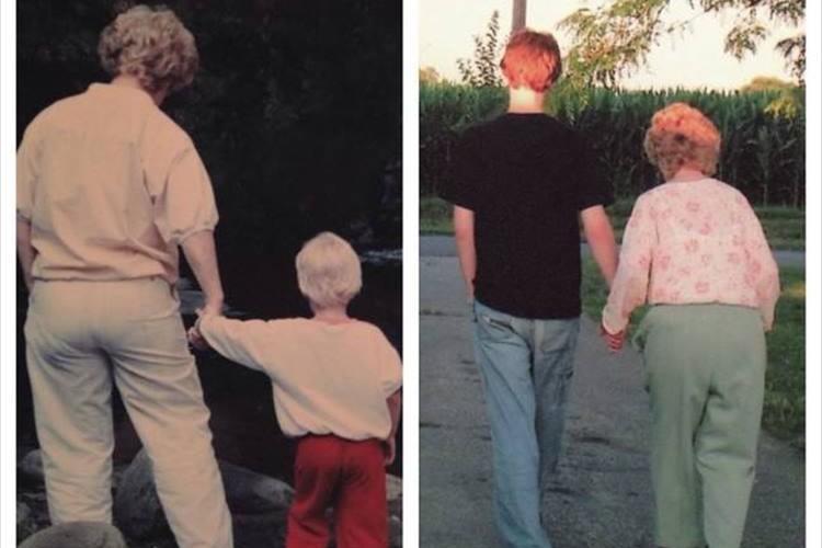 """""""昔と今の写真を比べてみた""""時は流れても変わらない写真24選"""