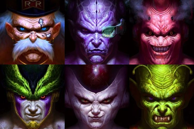 中国人絵師が描いたフリーザー、魔人ブウなどドラゴンボールの悪役たちがリアル過ぎて怖カッコいい!