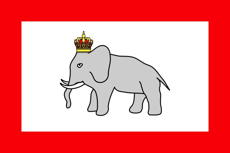 """ゾマホンさんの出身国ベナンに19世紀まであった""""ダホメ王国""""の国旗がカワイすぎる"""