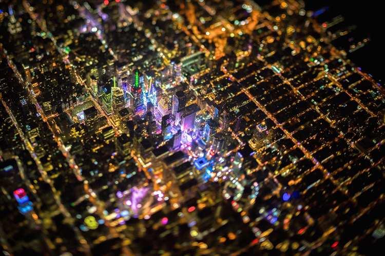 7500フィートの上空から撮影したニューヨークの街はこんなにも美しかった