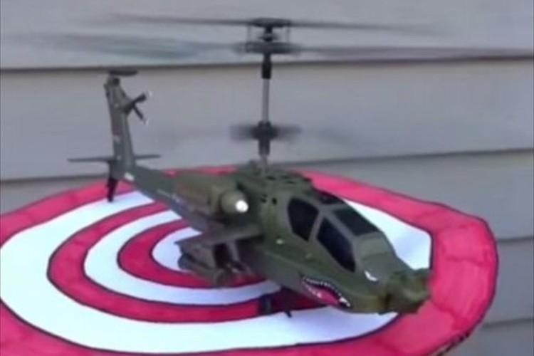【意外】ヘリの離陸!あら?こんなとこから離陸してたのね!(5秒動画)