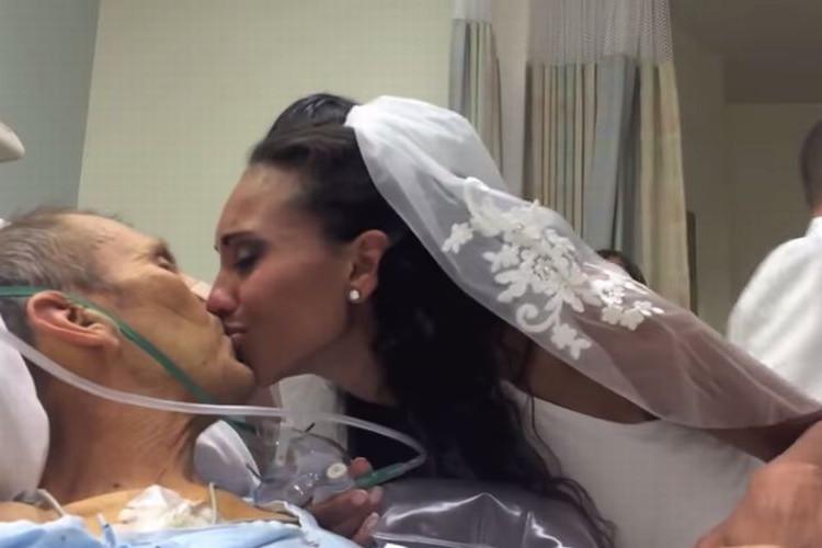 【感涙】どうしても父に花嫁姿を見せたくて...愛に包まれた病室の結婚式