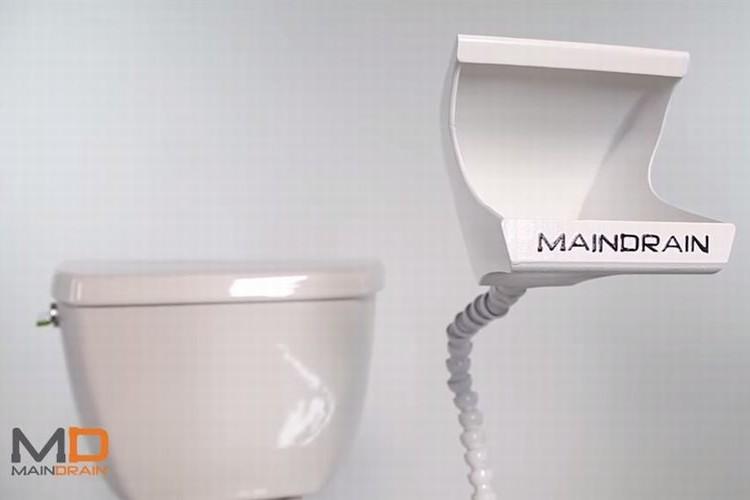 男性のトイレでの飛沫問題に終止符を!最短距離で小をできるアタッチメント式小型便器が発明!