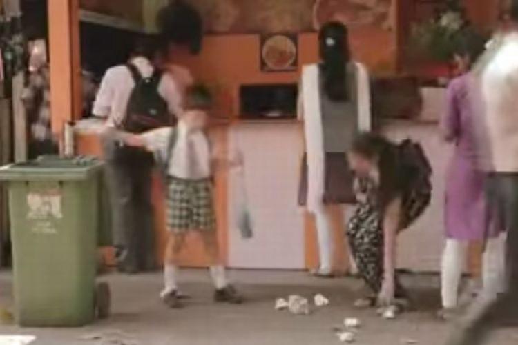 【社会実験】ゴミを拾う子どもを見て大人たちの反応は?