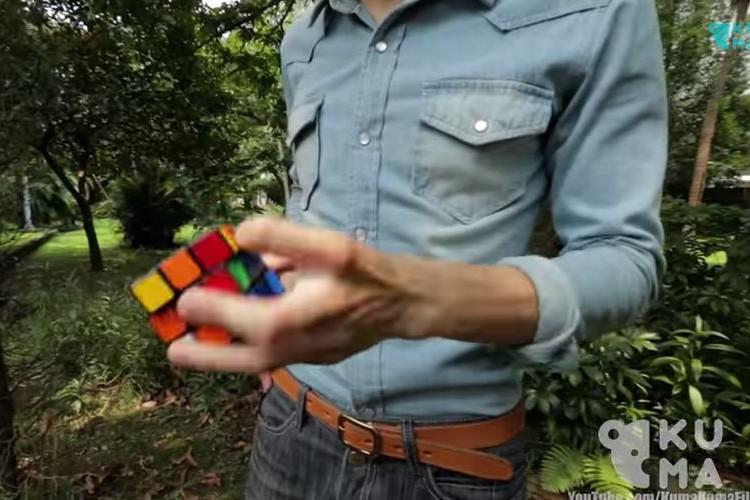 【神業】世界一のルービックキューブの達人!この人の頭の中どうなってるの?