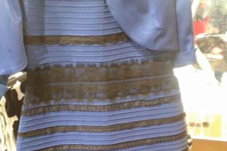「このドレスは何色??」人によって意見が分かれる不思議なドレスの写真!有名人も巻き込み超話題に!!