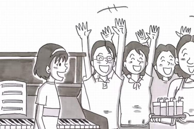鉄拳の新作パラパラ漫画!やっぱり素敵!思い出のピアノの物語!