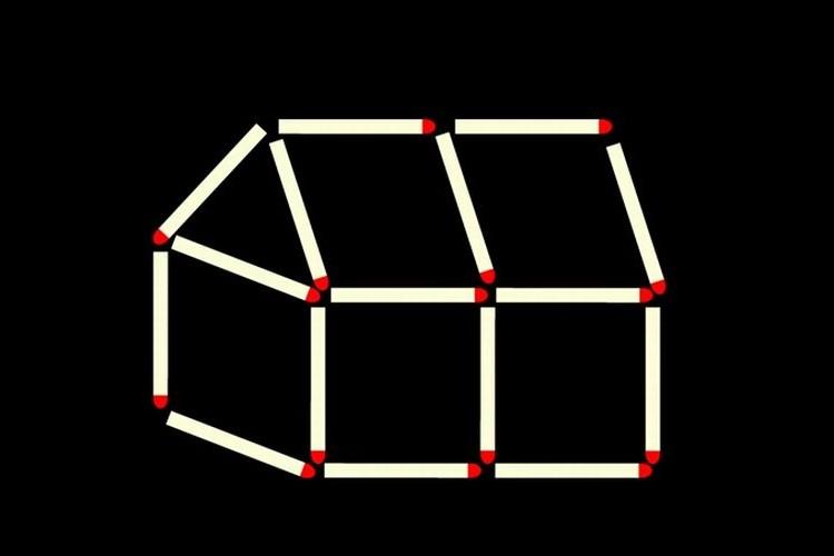 【マッチ棒クイズ】この難問が解けたらIQ100 は確実らしいぞ
