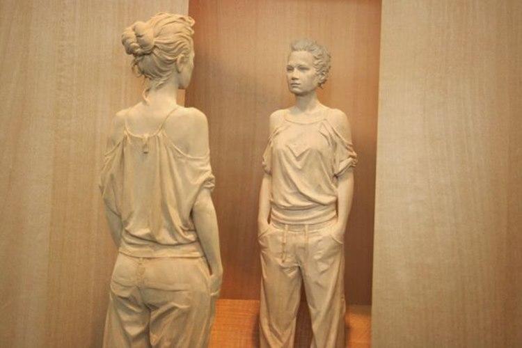 え!?これ木製なんですか!?イタリアの彫刻家ピーターデメッツの ...