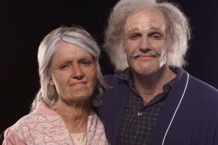 結婚前のカップルが互いの90歳の姿に思わず涙…その理由とは