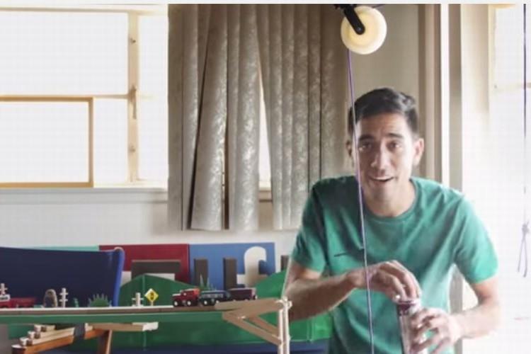 【Vine】6秒の魔術師ザック・キングが作ったピタゴラ装置が凄い!