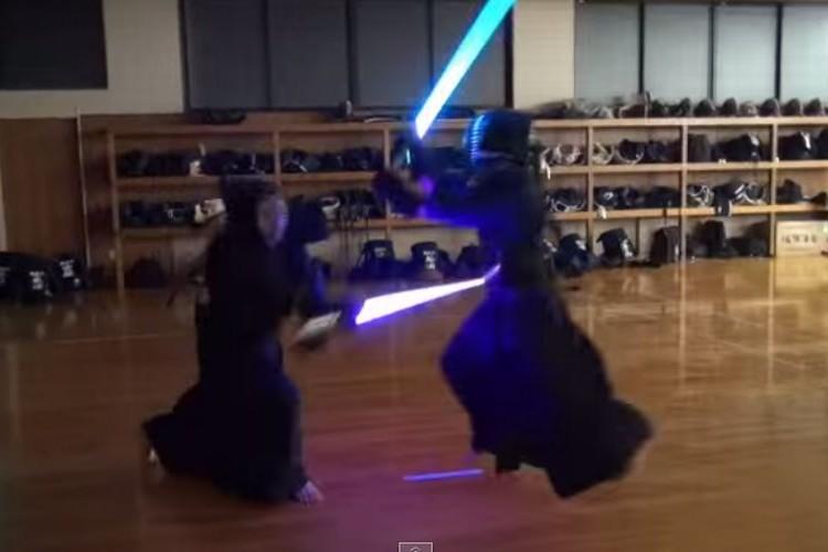 剣道部にライトセーバーを持たせたらガチだった