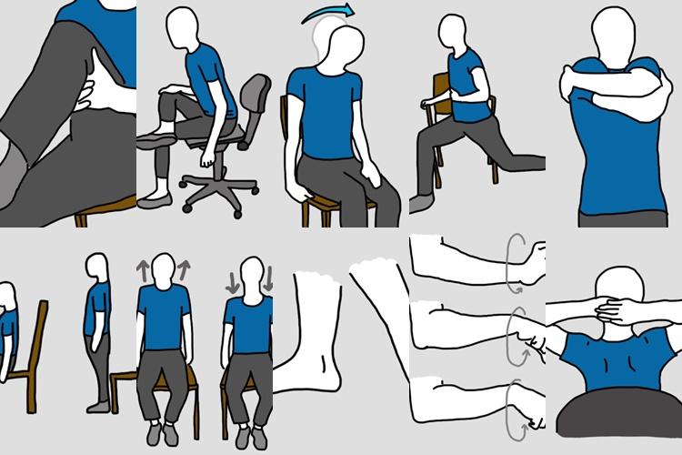 【痛み軽減の専門家推奨】椅子に座ってできる簡単ストレッチがいい感じ