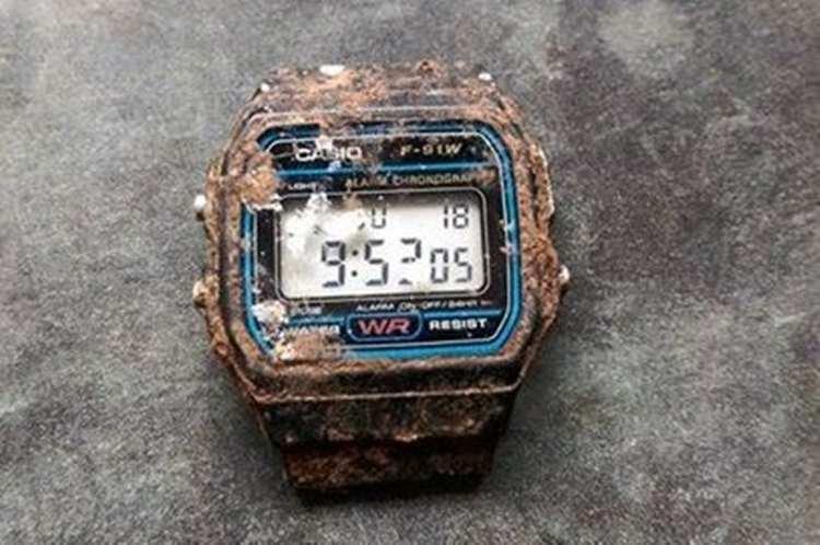 海外で絶賛!20年前ぶりに見つかったカシオの時計が7分遅れだった