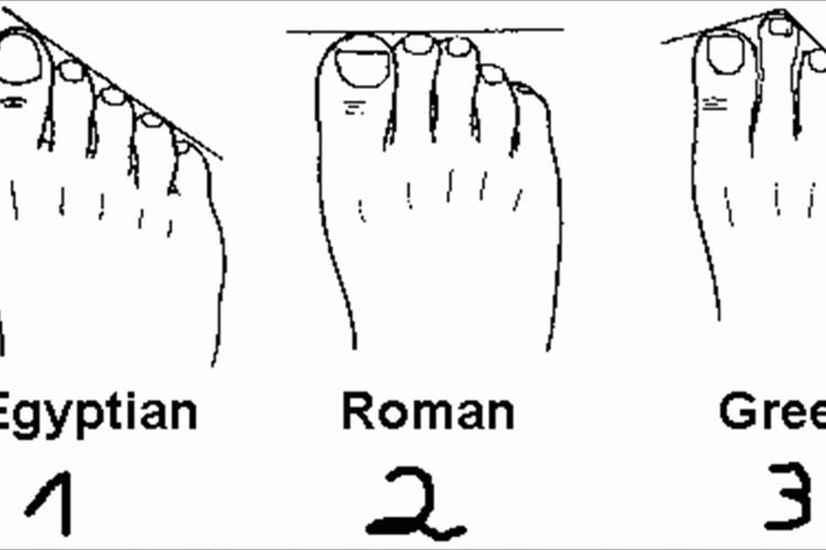"""簡単チェック!""""足の指の長さ""""で3タイプに分かれる性格診断"""