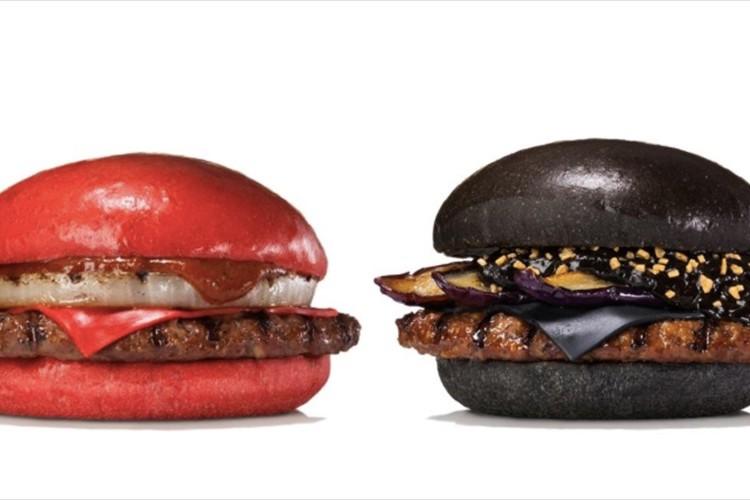 """『非常識』がコンセプト!バーガーキングが""""赤と黒のハンバーガー""""を発表!"""