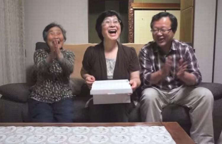【両親へサプライズ妊娠報告】エコー写真のプレゼントに思わず涙