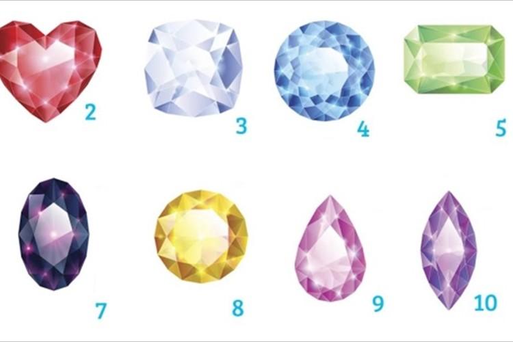 魅力的だと思う「宝石」を1つ選んでください【性格診断】