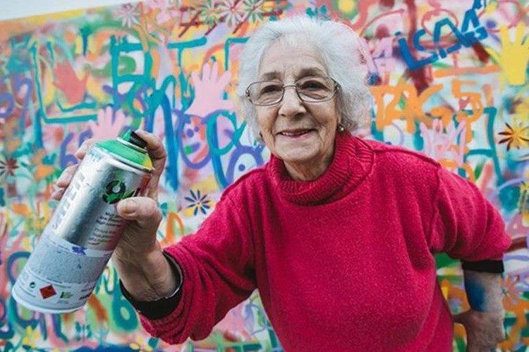 高齢者がストリートアート!?若者と高齢者をつなぐポルトガルの活動が話題!