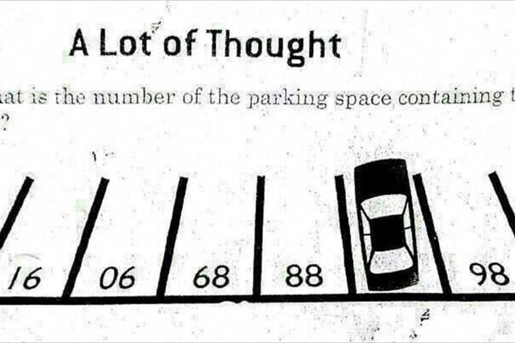 【すぐに解けたら天才!】停車している駐車スペースの番号は何番?