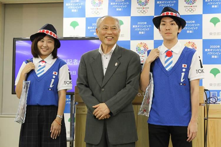 東京五輪に向けた東京観光ボランティアのユニフォームが残念すぎると話題に